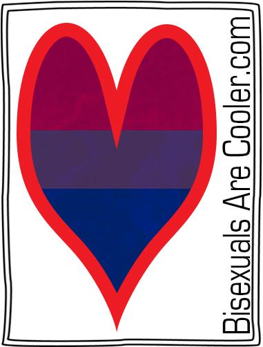 BisexualsAreCooler logo